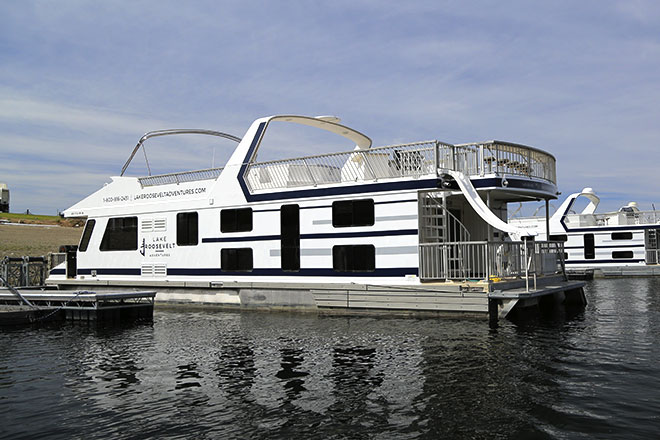Galaxy Class Houseboat | Houseboats | Lake Roosevelt Adventures