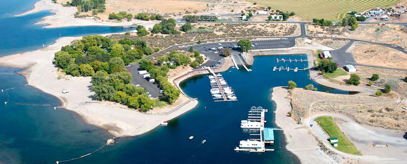 Keller Ferry Marina & Campground | Lake Roosevelt Adventures