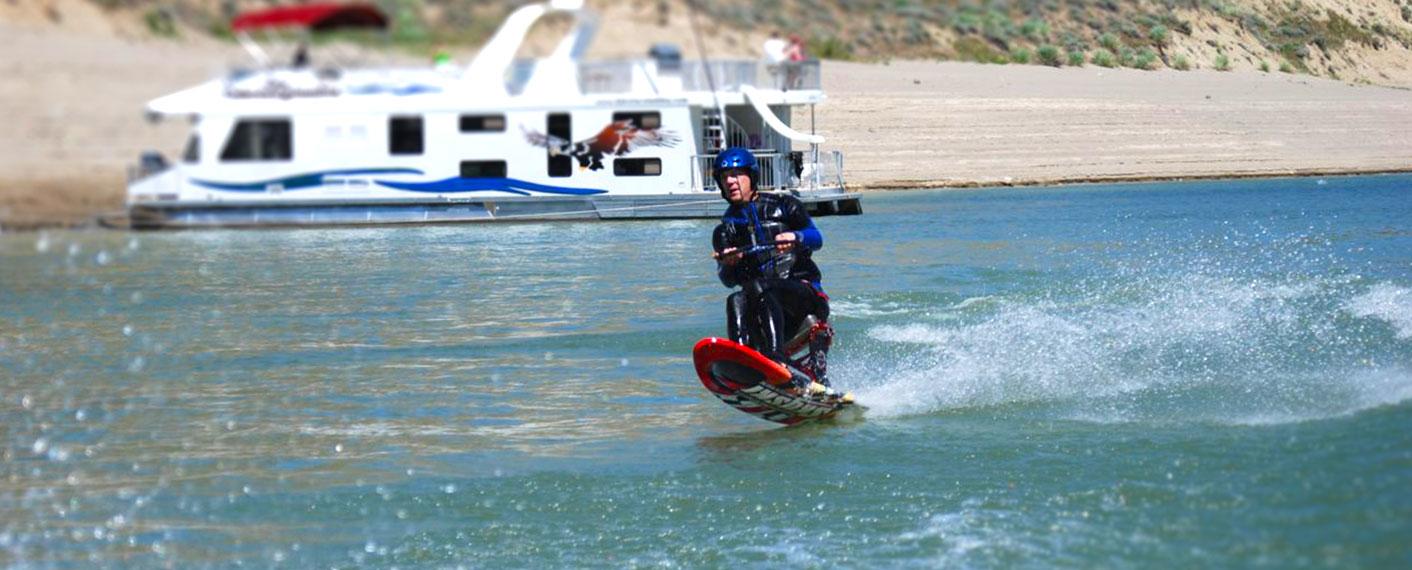 Man wakeboarding | Watersports | Activities | Lake Roosevelt Adventures
