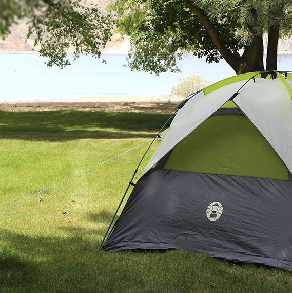 Reserve a Campground at Keller Ferry | Lake Roosevelt Adventures