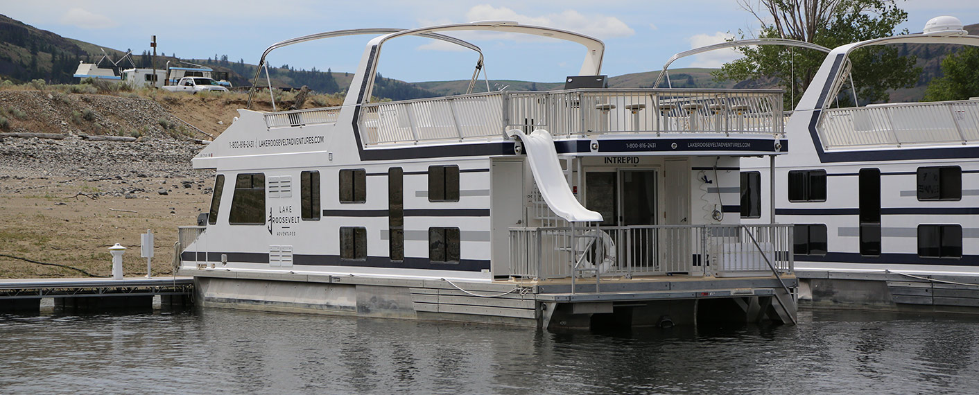 Galaxy Class Houseboat | Houseboats | Lake Roosevelt Adventures