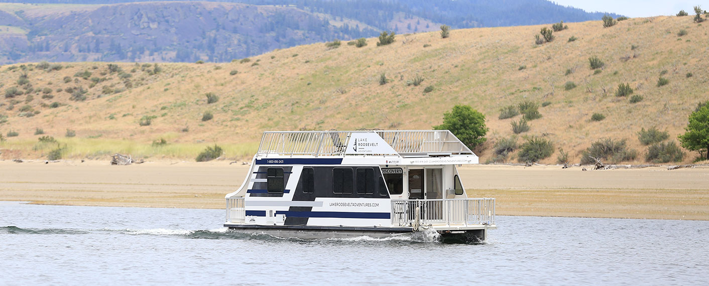 Explorer Class Houseboat | Houseboats | Lake Roosevelt Adventures
