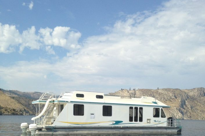 Luna Class Houseboat | Houseboats | Lake Roosevelt Adventures